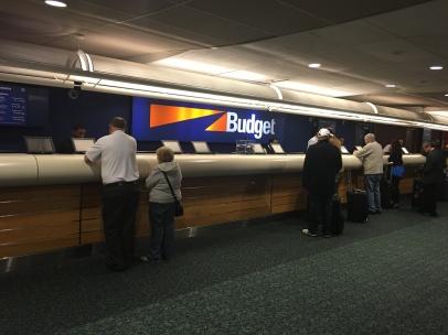 مكتب Budget في مطار اورلاندو