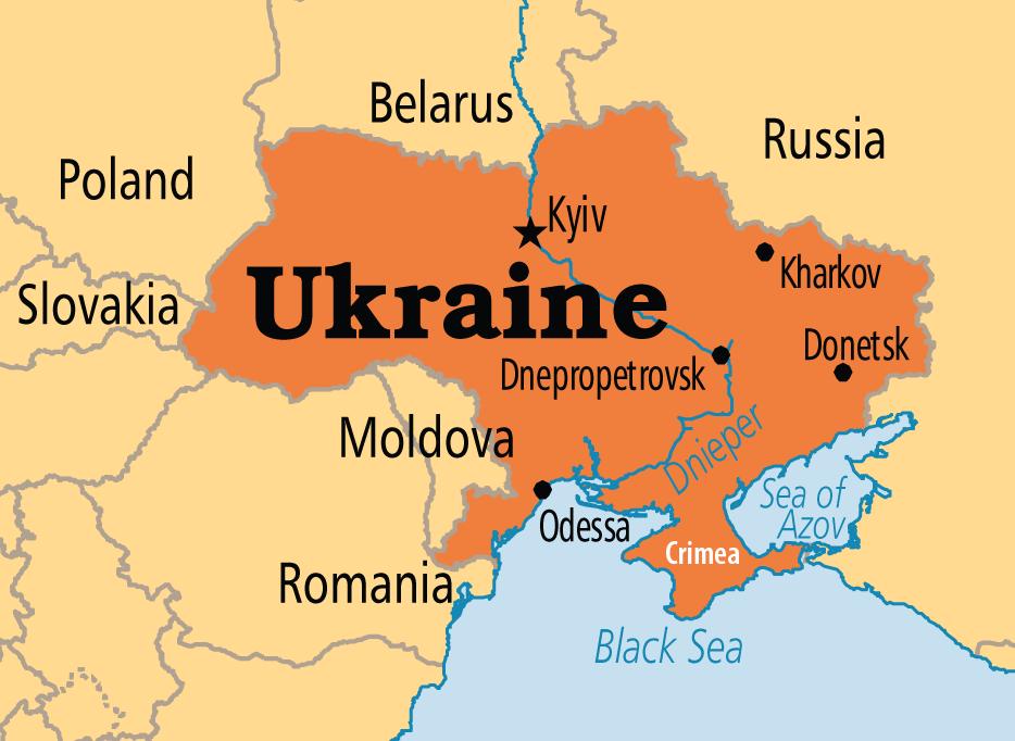 صور خريطة اوكرانيا Ukraine-map
